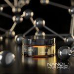 Μάσκα μαλλιών κερατίνης από την Nanoil. Επαγγελματική περιποίηση μαλλιών τώρα διαθέσιμη στο σπίτι